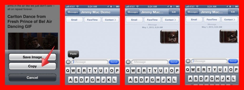 Send animated GIFs in iMessages