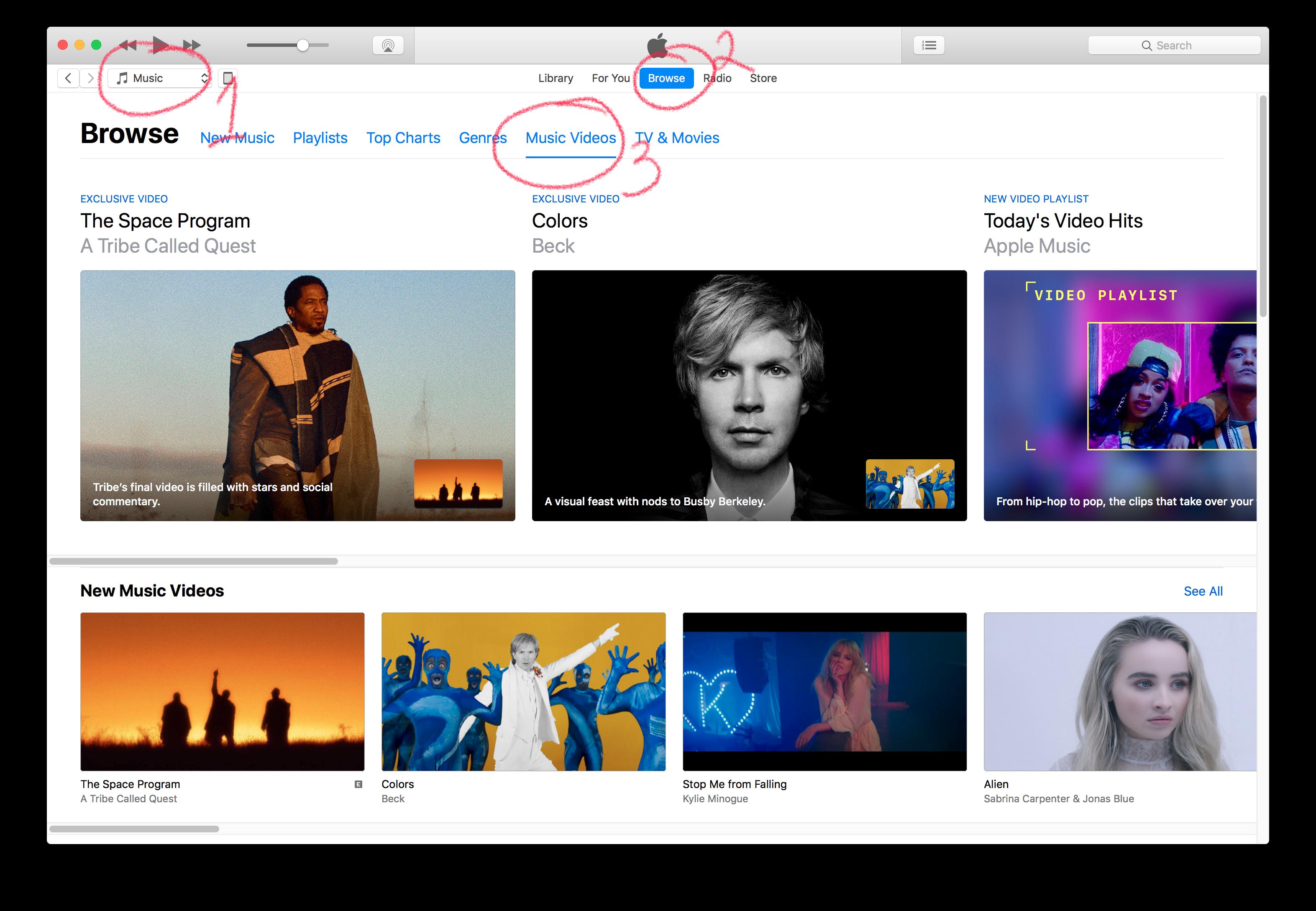 Music Videos iTunes