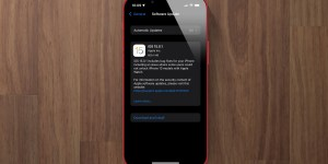 iOS 15.0.1 update screen